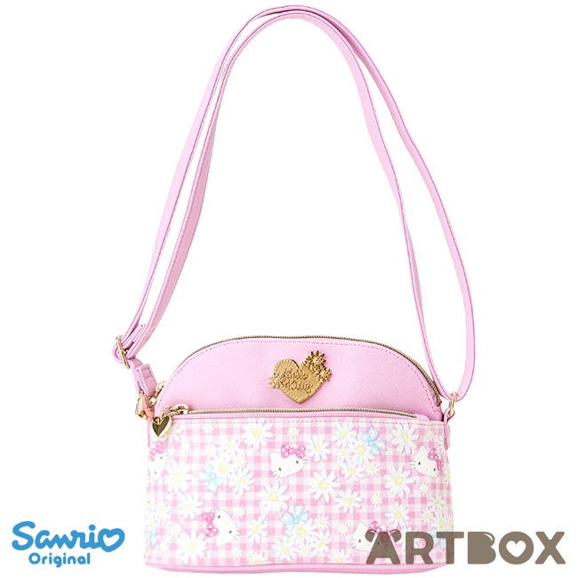 Buy Sanrio Hello Kitty Check Mini Shoulder Bag with Printed Pattern at  ARTBOX 0bb0b797f914d