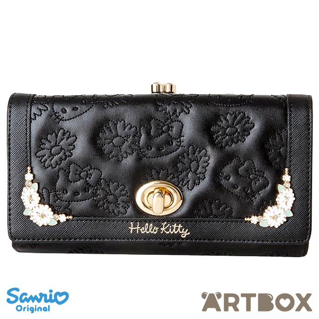 916525410 Buy Sanrio Hello Kitty Long Wallet with Enamel Decorations at ARTBOX