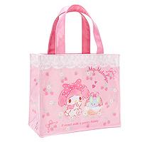 d91748e627 My Melody Strawberry Laminated Mini Tote Bag