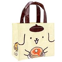 e07926e6df PomPomPurin Hotcake Laminated Mini Tote Bag