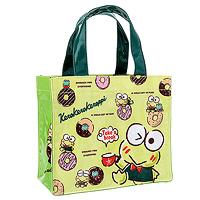 c55409ee18 Keroppi Doughnuts Laminated Mini Tote Bag