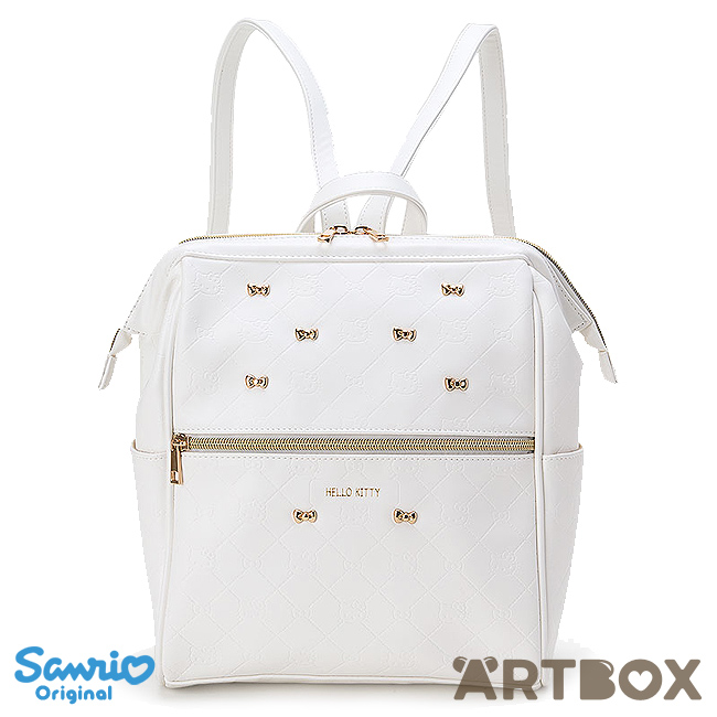 5958ad18f Buy Sanrio Hello Kitty Wide Opening White Quilted Backpack at ARTBOX