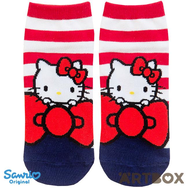 07b8aae88 Buy Sanrio Hello Kitty Big Ribbon Adult Ankle Socks at ARTBOX