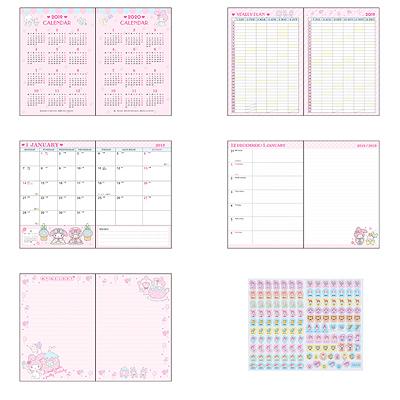 fd62fd4eb CHARACTER: My Melody TAGS: sanrio | original | originals | my melody |  bunny | rabbit | schedule | scheduler | datebook | calendar | diary |  pocket ...