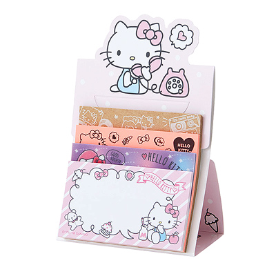 622e61644 Buy Sanrio Hello Kitty Assorted Sticky Notes Set on Stand at ARTBOX