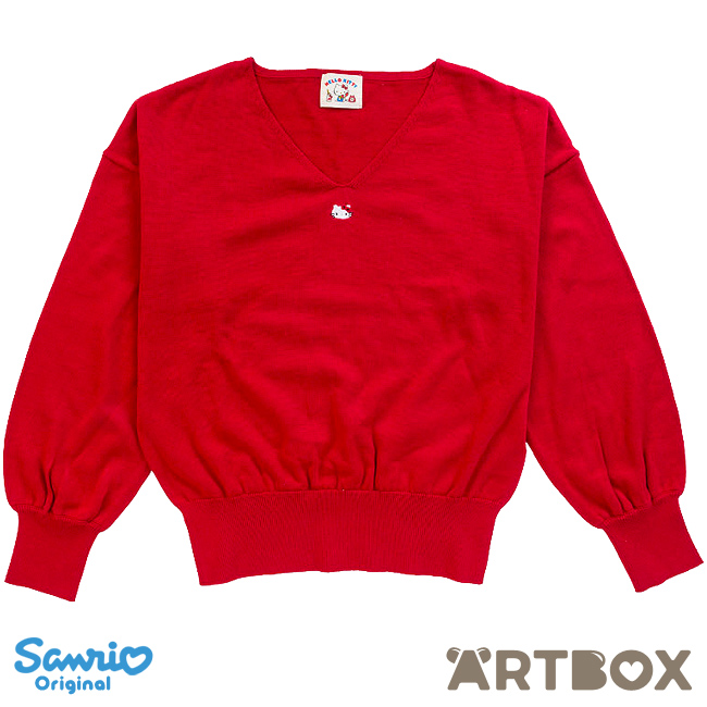 971b57a92 Buy Sanrio Hello Kitty Red Long-Sleeved V-Neck Sweater at ARTBOX