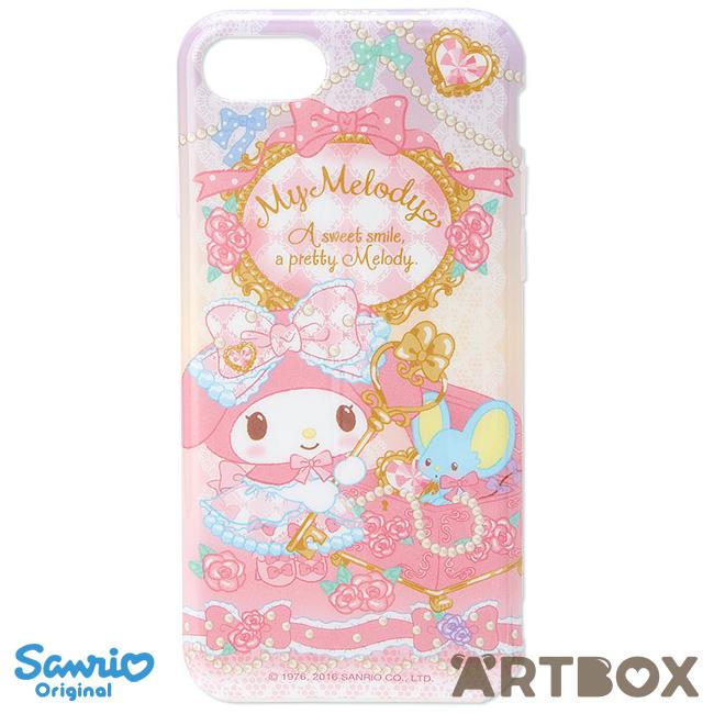new concept b61a4 d53c7 Buy Sanrio Original My Melody Rose iPhone 7 Soft Plastic Case at ARTBOX
