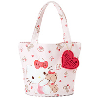 7de77c73d9 Buy Sanrio Hello Kitty Wide Opening White Quilted Backpack at ARTBOX