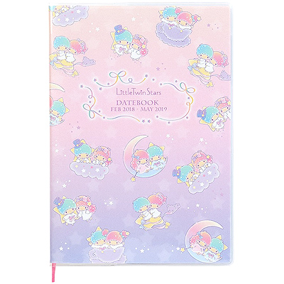 dacf3e925 Buy Sanrio Little Twin Stars B6 Mid-Year Datebook Feb 18 - May 19 at ARTBOX