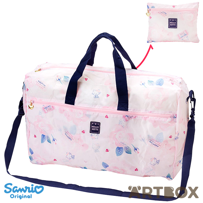 4831799ee3 Buy Sanrio Hello Kitty Girly Travel Series Folding Boston Overnight Bag at  ARTBOX