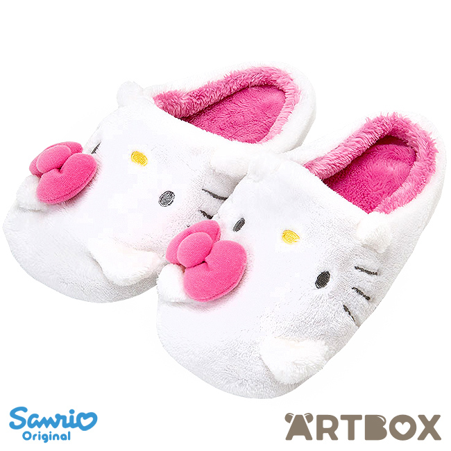 fe0b64ee8 Buy Sanrio Hello Kitty Soft Plush Moulded Slippers with Hands at ARTBOX