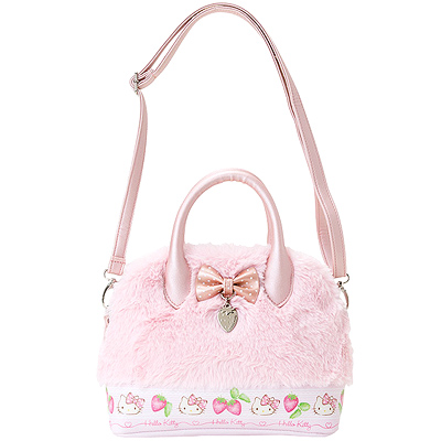 d9ded69dc76f Buy Sanrio Hello Kitty Bow and Charm Mini Faux Leather   Plush Fur ...