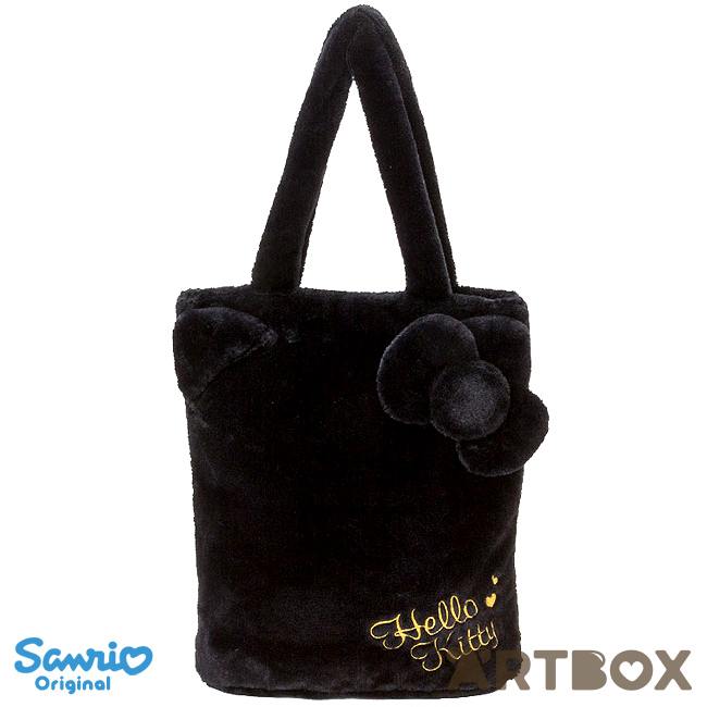 a66f5df1e8ea Buy Sanrio Hello Kitty Plush Fur Tote Bag with Logo Embroidery at ARTBOX