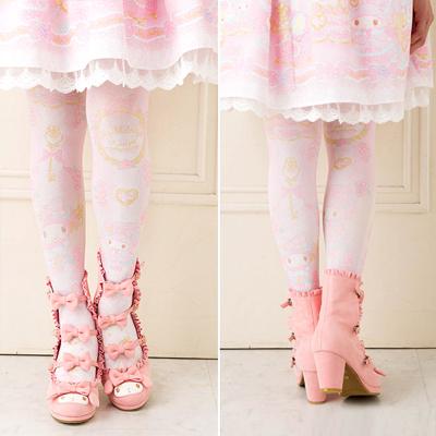 b99c01dde Buy Sanrio Original My Melody Rose Princess Printed Tights at ARTBOX