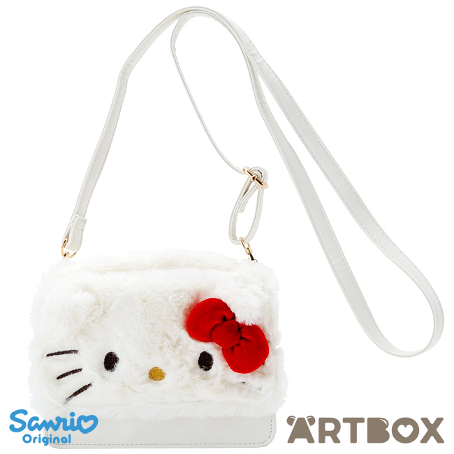 d63fe5b3b Buy Sanrio Hello Kitty Faux Fur Face Design Mini Shoulder Bag at ARTBOX