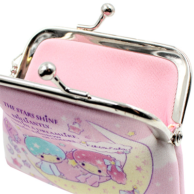 bb70e7f9c CHARACTER: Little Twin Stars TAGS: sanrio | little twin stars | kiki | lala  | moon | fluffy | star | pastel | purse | clasp | coin | pouch | wallet |  fairy ...