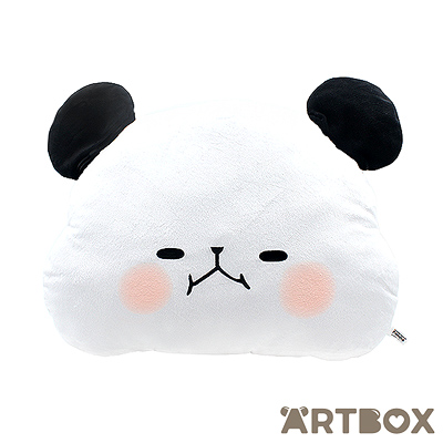 Buy kamio mochi mochi panda face cushion eyes narrowed at for Cute homeware accessories