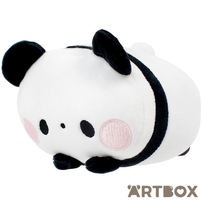 Buy Mochi Fuwa KoroKoro Panda Original Black Small Plush at ARTBOX