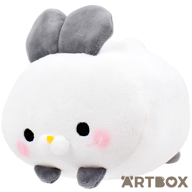 Buy Ennichi-ya Mochi Fuwa KoroKoro Usagi Grey Ears Bunny Small Plush