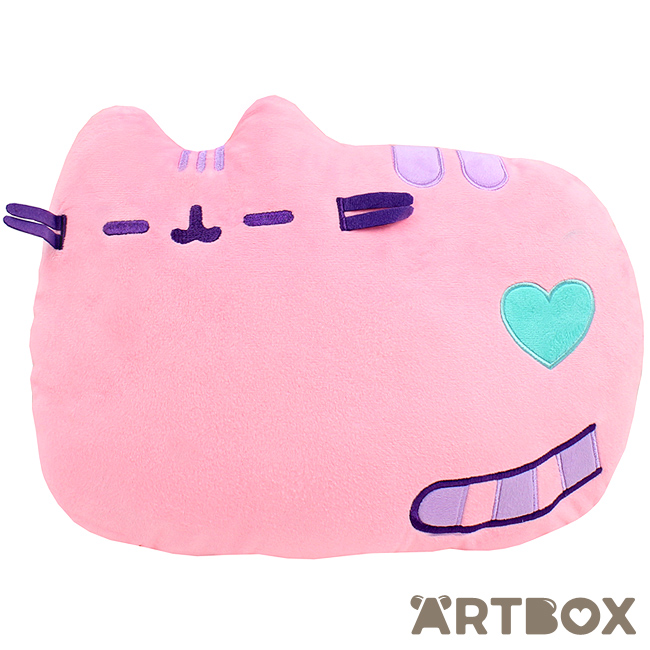 OFFICIAL Pusheen Cat Pastel Pink Exclusive Pillow bed sofa plush cushion