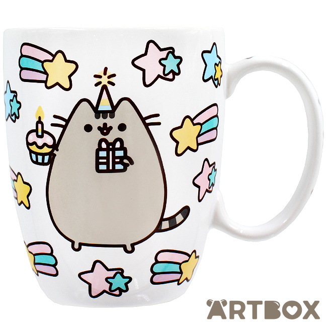 40fc98bdcf8 Buy Pusheen the Cat Celebration Cupcake Mug at ARTBOX