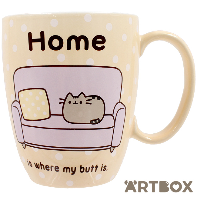 5b823c0f145 Buy Pusheen the Cat Polka Dot Home Mug at ARTBOX