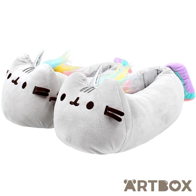 Buy Pusheen The Cat Pusheenicorn Unicorn 3D Closed Back Slippers At ARTBOX