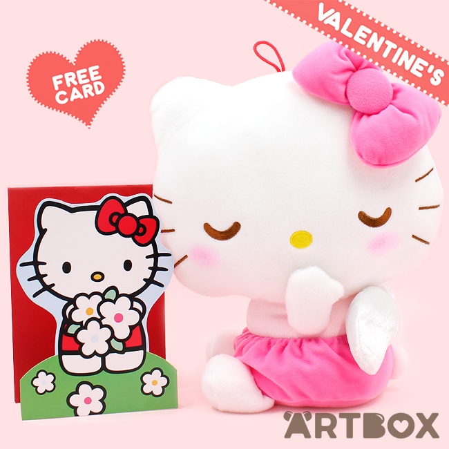 6df6a207b Buy Sanrio Hello Kitty Baby Angel Hanging Large Plush with Free Card at  ARTBOX