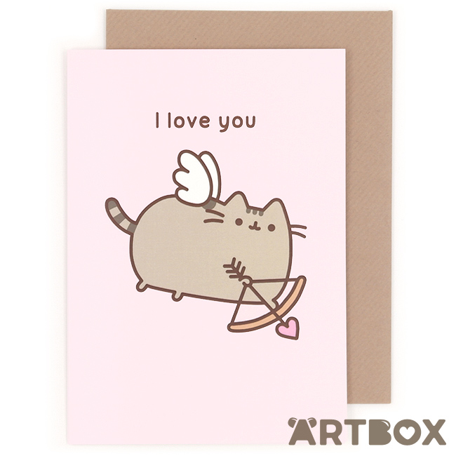 greeting_pusheen_love_you_1_650 How To Make Greetings Cards