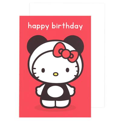 Buy sanrio hello kitty red panda happy birthday card at artbox character hello kitty tags sanrio hello kitty card birthday panda red happy hype associates kawaii bookmarktalkfo Choice Image