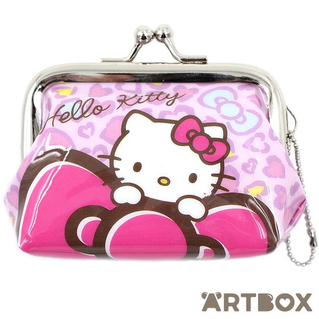 08ab70e67 Buy Sanrio Hello Kitty Mini Clasp Purse - Pink Leopard Print at ARTBOX