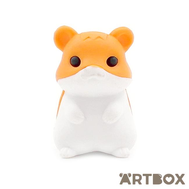 Iwako White Hamster Eraser from Japan