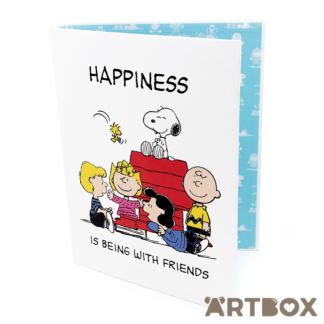 Buy peanuts vintage snoopy a4 ringbinder folder at artbox malvernweather Choice Image