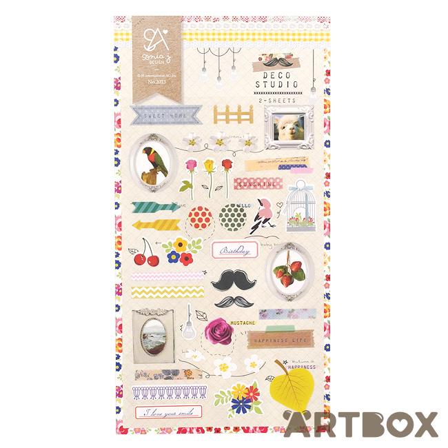 Buy Sonia J Deco Studio 2-Sheet Seal Stickers at ARTBOX