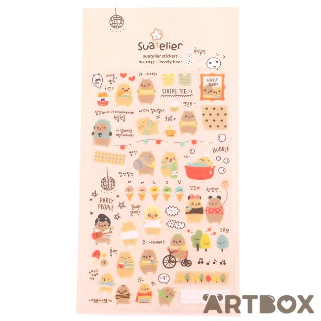 Suatelier Ice-cream Stickers