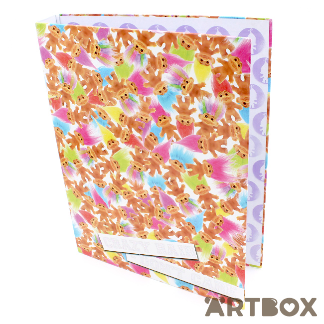 Buy trolls vintage montage a4 ringbinder folder at artbox malvernweather Image collections